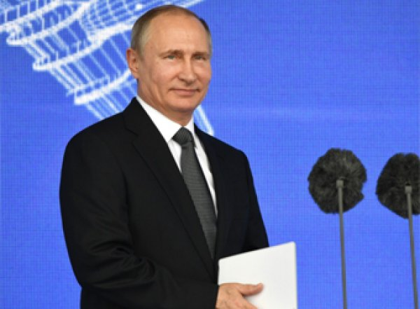 "Путин открыл авиасалон ""МАКС-2019"" и показал Эрдогану новейший Су-57"