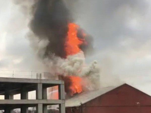Пожар у Павелецкого вокзала в Москве сегодня: есть пострадавшие (ФОТО, ВИДЕО)