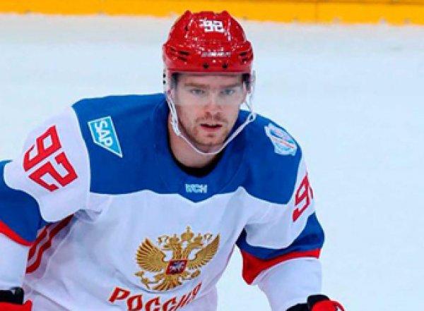 Хоккеиста сборной России выгнали из спорта на четыре года за употребление кокаина