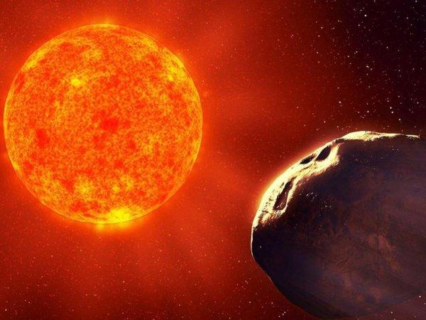 Видео столкновения кометы с Солнцем связали с приближением Нибиру