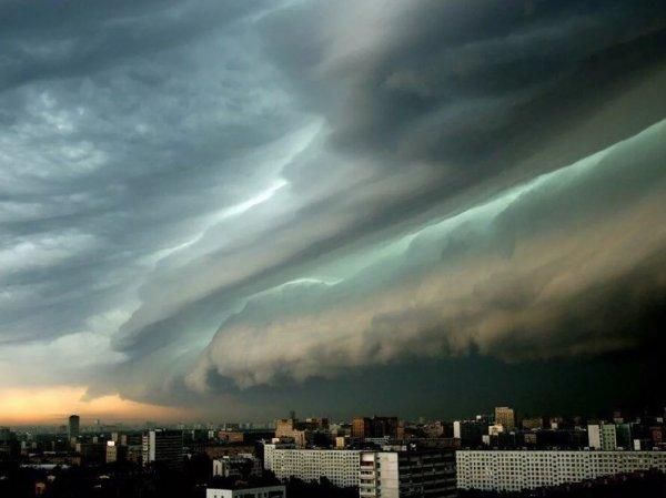В Москву пришел шторм: МЧС впервые предупредило о непогоде по телевизору