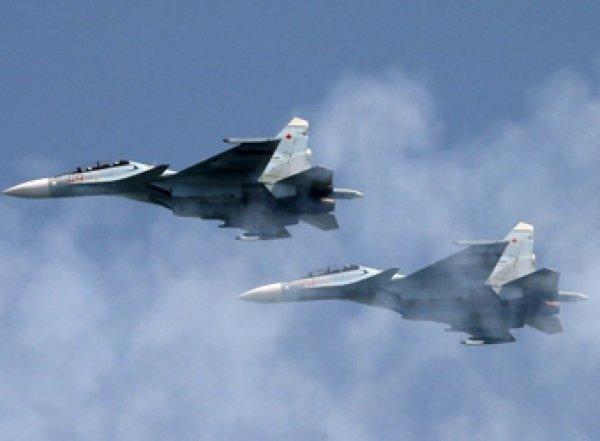 Над Липецком столкнулись два бомбардировщика Су-34
