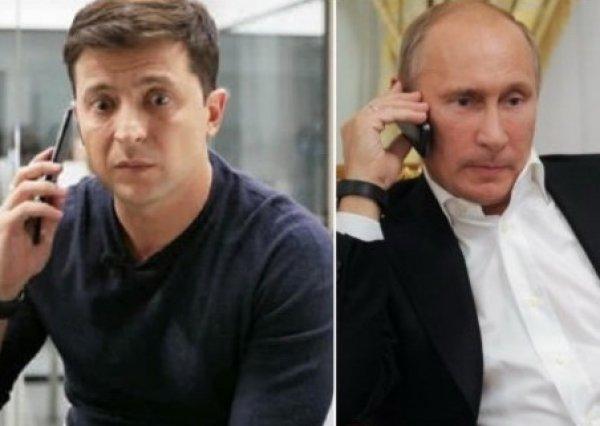 """Зеленский о разговоре с Путиным: """"Мы договорились о прекращении войны и возвращении территорий"""""""