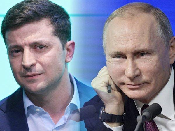 """""""Добрый признак"""": Путин и Зеленский поговорили по телефону"""
