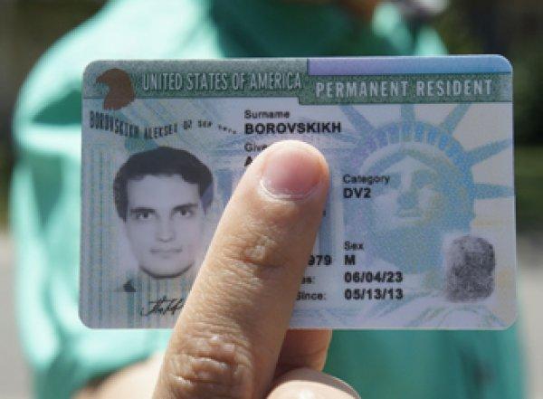 В России хотят запретить американскую лотерею грин-карт