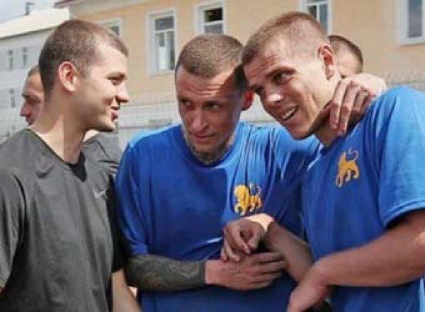 Кокорин и Мамаев освобождены по УДО (ВИДЕО)