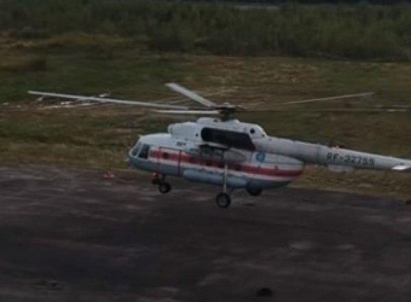В Саратовской области разбился военный вертолет Ми-8