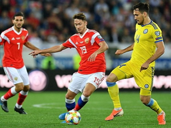 Россия – Казахстан: счет 1:0, обзор матча от 9.09.2019, видео голов, результат ЧЕ (ВИДЕО)