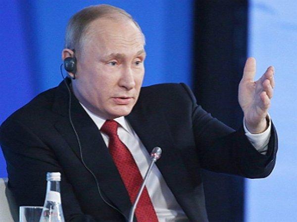 Путин рассказал, каким не может быть президент России