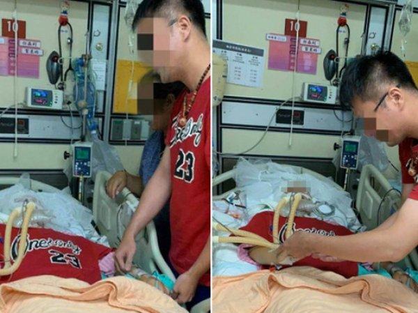 На Тайване женщина с мертвым мозгом вышла замуж