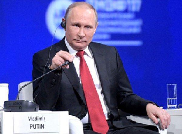 """""""Откуда вы это взяли?"""": Путин осадил корреспондента NBC"""