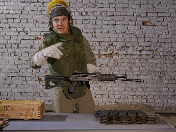 В Сети появилось видео разрыва ствола АК-12 от безостановочной стрельбы
