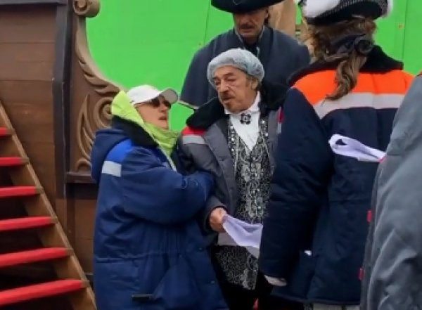 Боярскому стало плохо во время съемок в Севастополе