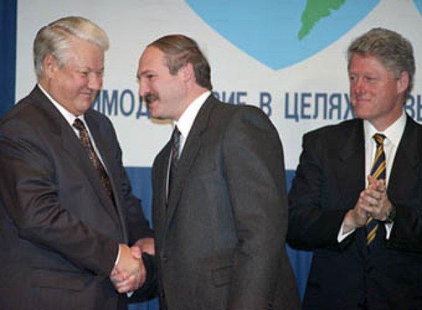 Лукашенко рассказал, как он с Ельциным предлагали Клинтону возглавить СНГ