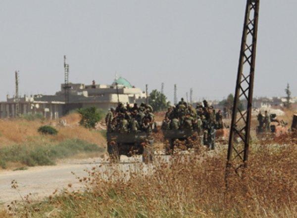 Турция начала наземную операцию в Сирии (ВИДЕО)