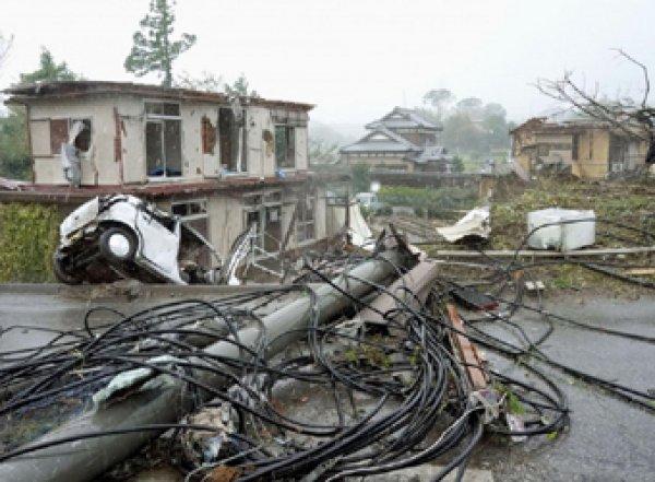 На Японию обрушился самый страшный тайфун за последние 60 лет: десятки жертвы (ФОТО, ВИДЕО)