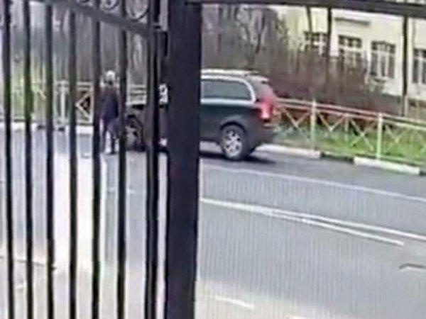 В Подмосковье водитель зарезал пешехода, переходившего дорогу на красный свет