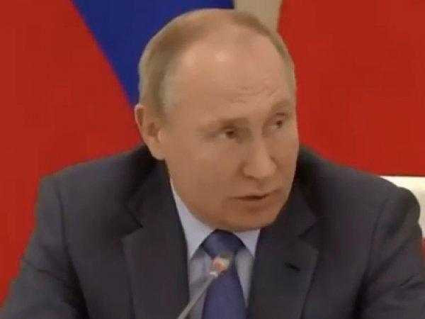 """""""А на каком канале была такая передача?"""": Путин публично разнес российское ТВ (ВИДЕО)"""