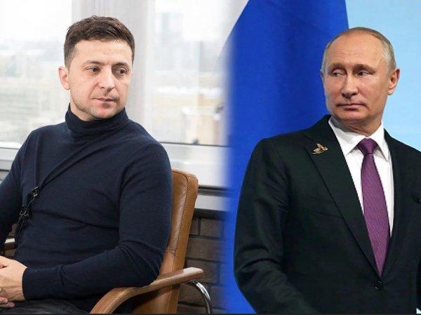 Стало известно, о чем говорили Путин и Зеленский по телефону