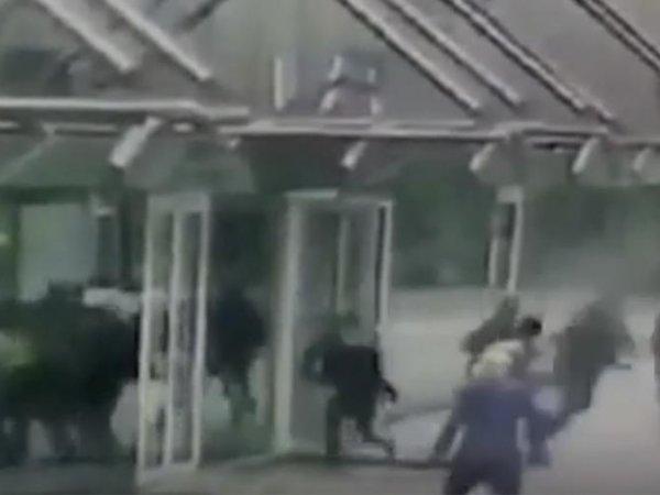 Опубликовано видео драки руферов с охранниками башни «Москва-Сити»