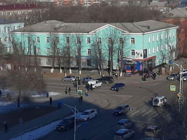 Опубликовано видео из колледжа в Благовещенске, где студент расстрелял одногруппников