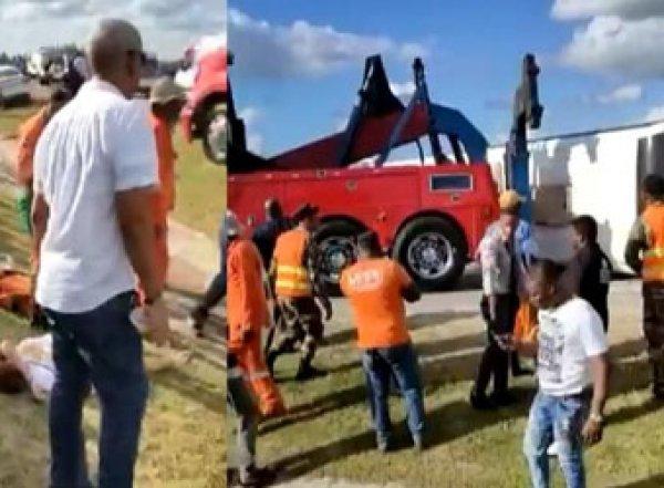 Авария в Доминикане: пострадавшей в ДТП с автобусом 12-летней россиянке ампутировали обе руки (ВИДЕО)