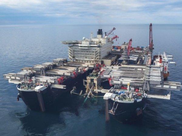 """СМИ: Россия нашла корабли, которые достроят """"Северный поток-2"""" вопреки санкциям США (ФОТО)"""