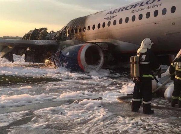 Назван виновный в крушении SSJ 100 в Шереметьево