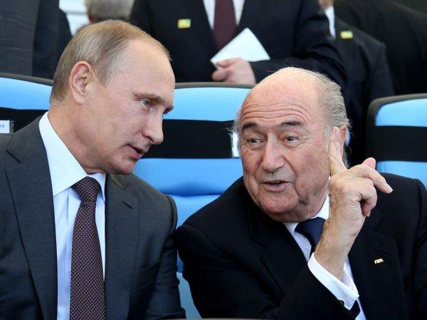 СМИ: в отчете Минюста США о подкупе главы FIFA фигурируют Путин и Медведев