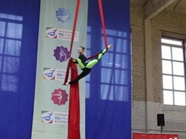 Российская гимнастка сломала позвоночник, рухнув с 8-метровой высоты