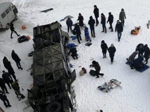 Автокатастрофа в Забайкалье: названа причина ДТП, где в рухнувшем с моста автобусе погибли 19 человек (ВИДЕО)