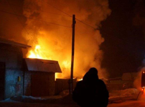 В страшном пожаре на Алтае погибли четверо детей и двое взрослых
