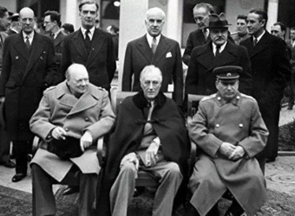 Минобороны рассекретило документы по Ялтинской конференции (ФОТО)