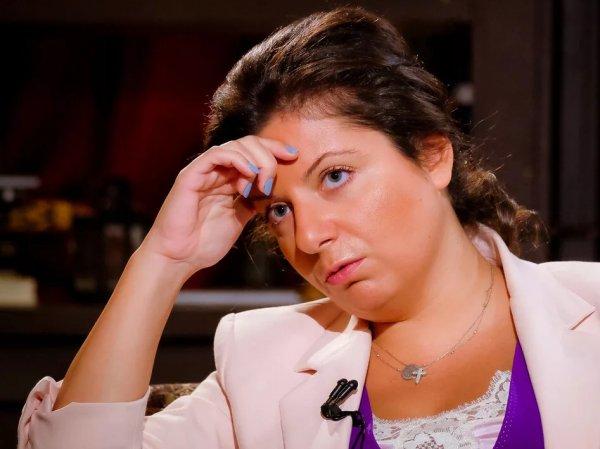 СМИ: Маргарита Симоньян попала в реанимацию с сердечным приступом
