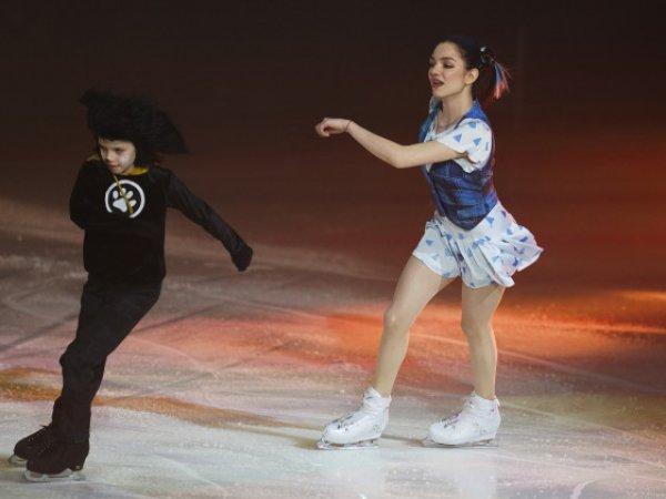 Озвучен гонорар фигуристки Евгении Медведевой за участие в ледовом шоу