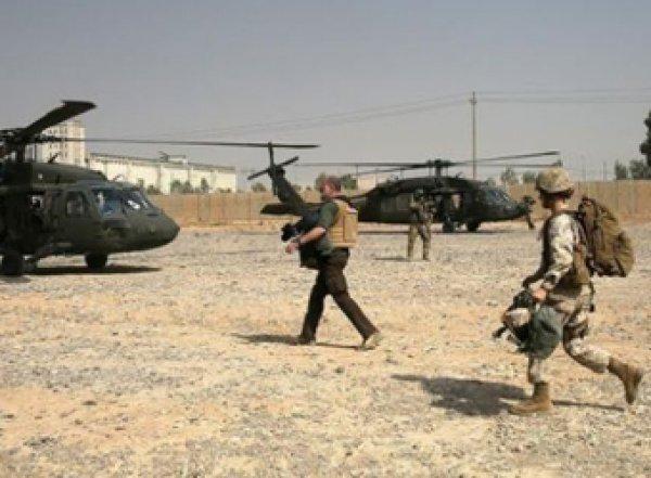 Появились фото последствий удара по американской базе в Ираке