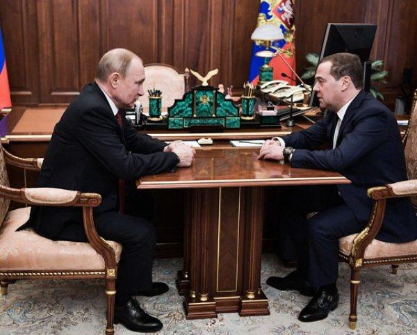 Назван преемник Медведева на пост премьер-министра