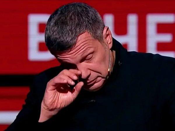 Соловьев заплакал в эфире из-за воспоминаний детства(ВИДЕО)