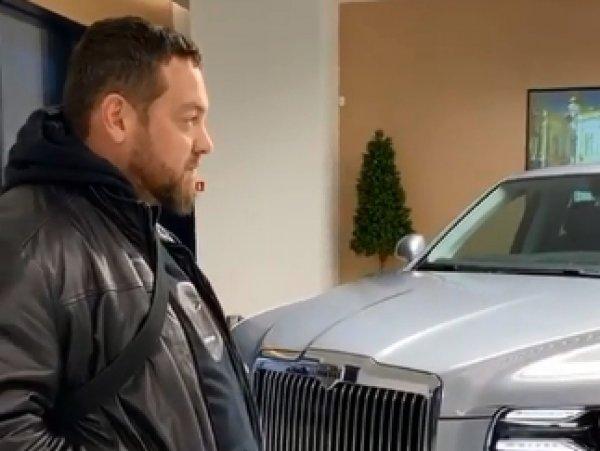 """""""Помойка"""": автоблогер Давидыч """"разнес"""" """"лимузин Путина"""""""