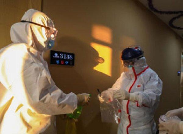 Вывезенные из Китая россияне проведут в карантине 14 суток под охраной Росгвардии (ФОТО, ВИДЕО)