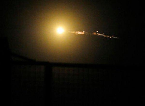 В Сети появилось видео отражения ракетного удара по Дамаску