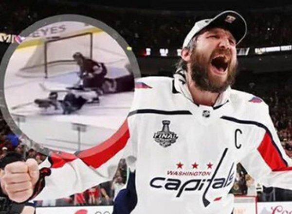 """Чудо-гол"" Овечкина признан лучшим в истории НХЛ (ВИДЕО)"