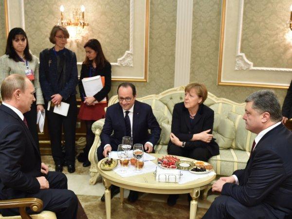 Порошенко назвал ночь переговоров с Путиным самой ужасной в жизни