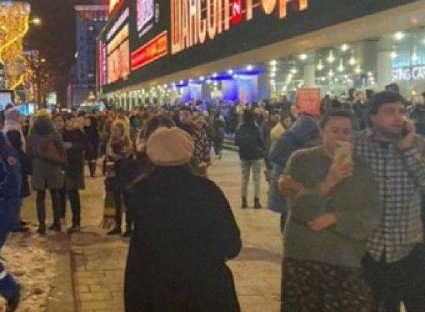 Из московского кинотеатра эвакуировали Пугачеву, канделаки и Лободу (ВИДЕО)