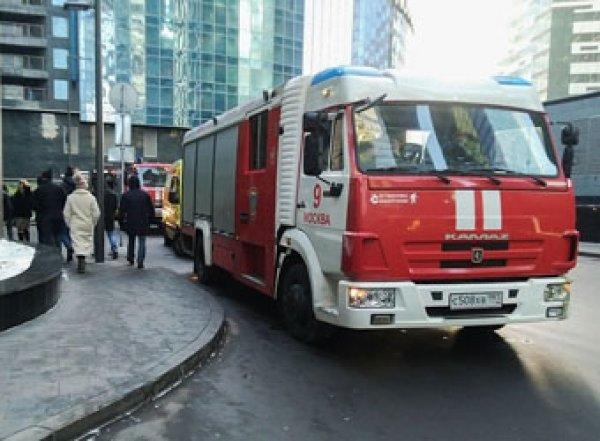 В Москве эвакуируют башню «Федерация Восток» из-за угрозы взрыва