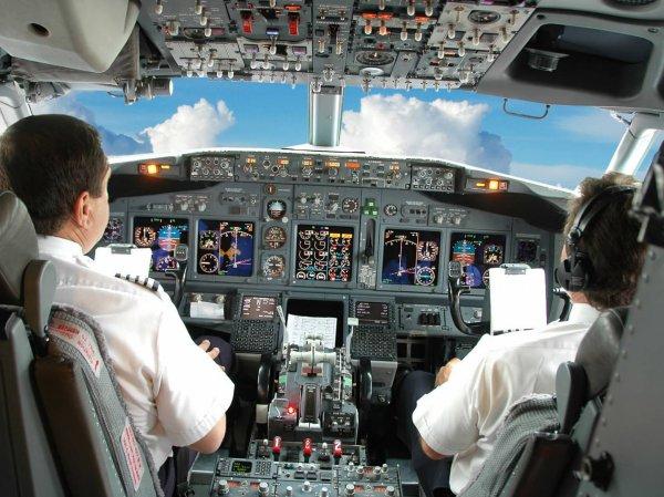 Самолет до Москвы не долетел из-за драки пилотов на борту