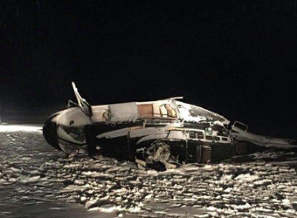 Момент катастрофы вертолета депутата Хайруллина попал на видео