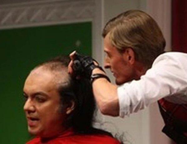 Павел Воля показал на видео лысого Киркорова, которого личного обрил
