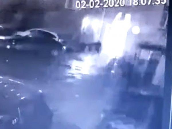 Убийство известного пластического хирурга в центре Киева попало на видео