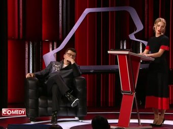 Асмус публично унизила Харламова на глазах у резидентов Comedy Club (ВИДЕО)